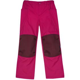 Finkid Kuuhullu Pantalones Niños, raspberry/cabernet